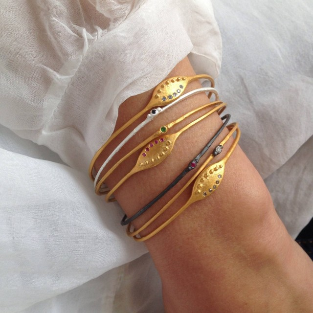 e38ee00f1c18a9 Iris & Epoch new #bracelet collections with #precious#stones. by Danai  Giannelli