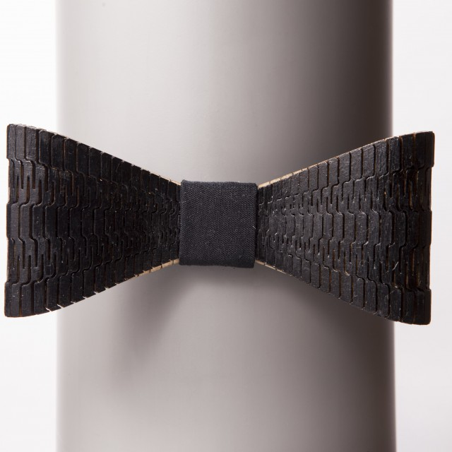 Cobra Black Bow Tie