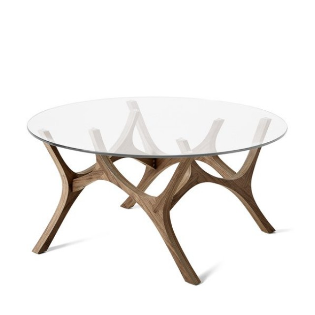 Mama Moose Coffee Table   Walnut